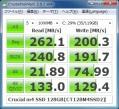 Crucial m4 SSD 128GB(CT128M4SSD2)ベンチ結果